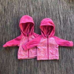 Twin Set Columbia Fleece Jackets